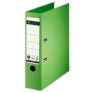 LEITZ 1007 Ordner hellgrün Karton 8,0 cm DIN A4