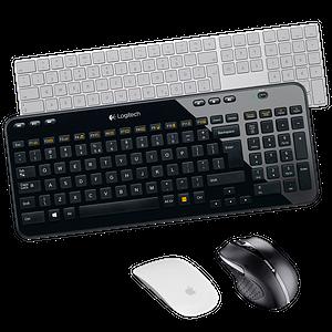 Mäuse, Tastaturen
