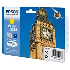EPSON T7034L gelb Tintenpatrone