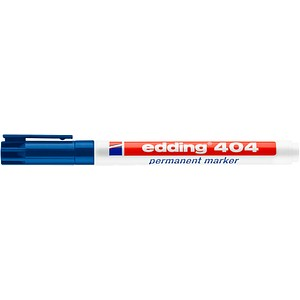 edding 404 Permanentmarker blau 0,75 mm