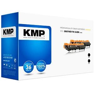 2 KMP 1248,0021 schwarz Toner ersetzen brother 2x TN-242BK