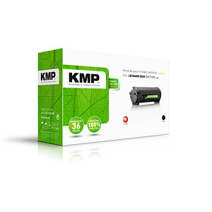 KMP L-T48 schwarz Toner ersetzt LEXMARK 50F2H00