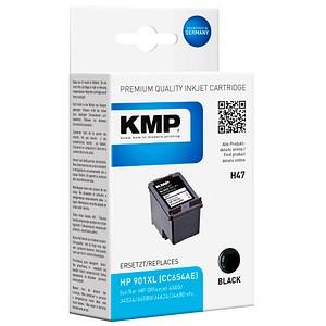 KMP H47 schwarz Tintenpatrone ersetzt HP 901XL (CC654EE)