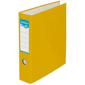 DONAU Doppelordner gelb Karton 7,5 cm
