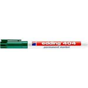 edding 404 Permanentmarker grün 0,75 mm