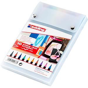10 edding 1340 Brush-Pens farbsortiert