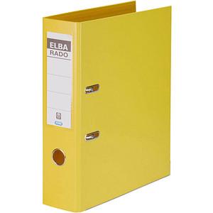 ELBA rado plast Ordner gelb Kunststoff 8,0 cm DIN A4