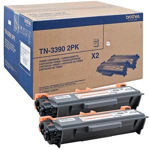 2 brother TN-3390 schwarz Toner