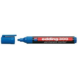 10 edding 300 Permanentmarker blau 1,5 - 3,0 mm