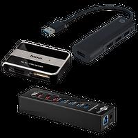 USB-Hubs, -Karten