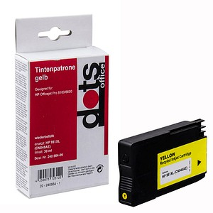 dots   gelb Tintenpatrone ersetzt HP 951XL (CN048AE)
