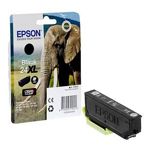 EPSON 24XL / T2431XL schwarz Tintenpatrone