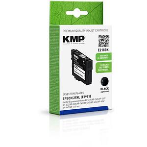 KMP E218BX schwarz Tintenpatrone ersetzt EPSON T2991XL