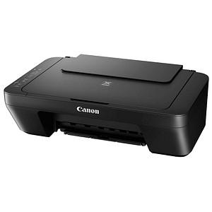 Canon PIXMA MG2555S 3 in 1 Tintenstrahl-Multifunktionsdrucker schwarz