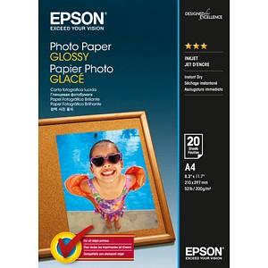 EPSON Fotopapier S042538 DIN A4 glänzend 200 g/qm 20 Blatt