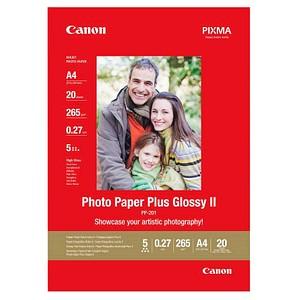 Canon Fotopapier PP-201 DIN A4 hochglänzend 265 g/qm 20 Blatt