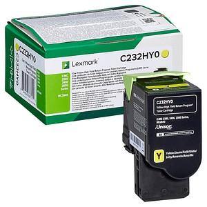 Lexmark C232HY0 gelb Toner