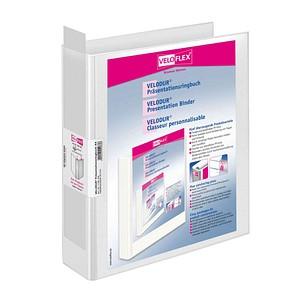 VELOFLEX VELODUR® Präsentationsordner weiß Kunststoff 6,5 cm DIN A4