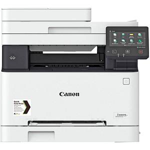 Canon i-SENSYS MF643Cdw 3 in 1 Farblaser-Multifunktionsdrucker weiß