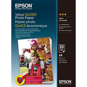 EPSON Fotopapier C13S400035 DIN A4 hochglänzend 183 g/qm 20 Blatt