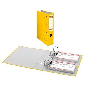 bene Doppelordner gelb Karton 7,5 cm
