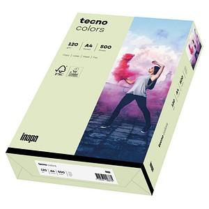 tecno Kopierpapier colors hellgrün DIN A4 120 g/qm 250 Blatt