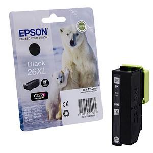 EPSON 26XL / T2621XL schwarz Tintenpatrone