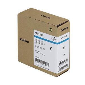 Canon PFI-110 C cyan Tintenpatrone
