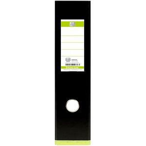 OXFORD myColour Strong-Line Ordner schwarz Kunststoff 8,0 cm DIN A4