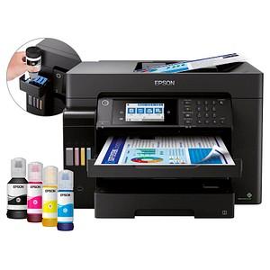 EPSON EcoTank ET-16650 4 in 1 Tintenstrahl-Multifunktionsdrucker schwarz