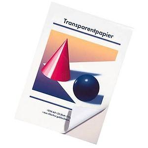 neutral Transparentpapier Kugel und Kegel DIN A4   70 g/qm 1 Block