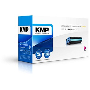 KMP H-T83 magenta Toner ersetzt HP 124A (Q6003A)