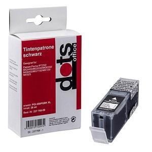 dots schwarz Tintenpatrone ersetzt Canon PGI-550 XL PGBK