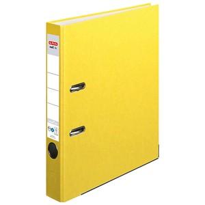 herlitz maX.file nature plus Ordner gelb Karton 5,0 cm DIN A4