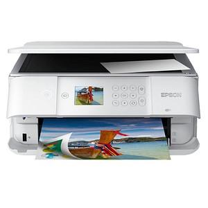 EPSON Expression Premium XP-6105 3 in 1 Tintenstrahl-Multifunktionsdrucker weiß