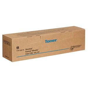 Intercopy schwarz Toner ersetzt DEVELOP; Minolta  A202051; TN217