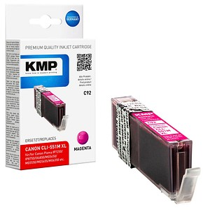 KMP C92 magenta Tintenpatrone ersetzt Canon CLI-551 XL M