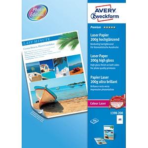 AVERY Zweckform Fotopapier 1398-200 DIN A4 hochglänzend 200 g/qm 200 Blatt