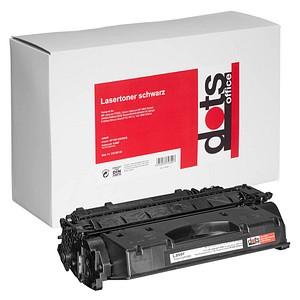dots schwarz Toner ersetzt HP 05X (CE505X)