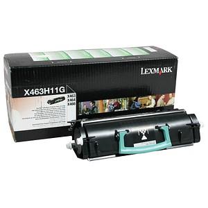 Lexmark X463H11G schwarz Toner