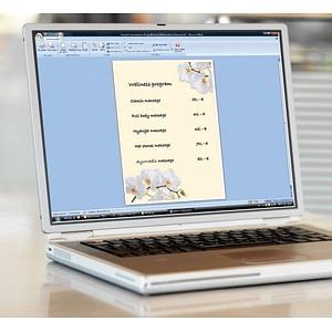 SIGEL Motivpapier White Orchid Motiv DIN A4 90 g/qm 50 Blatt