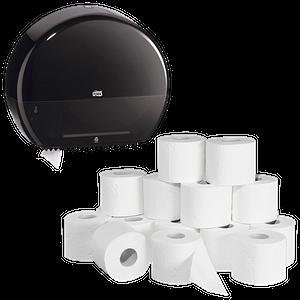 Toilettenpapier, -Spender