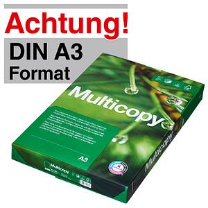Multicopy Kopierpapier ORIGINAL DIN A3 80 g/qm 500 Blatt
