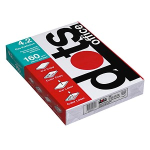 dots Laserpapier office 4.2 DIN A4 160 g/qm 250 Blatt