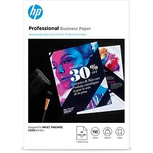 HP Fotopapier 3VK91A DIN A4 glänzend 180 g/qm 150 Blatt