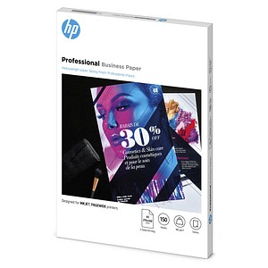 HP Fotopapier 7MV84A DIN A3 glänzend 180 g/qm 150 Blatt