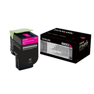 Lexmark 80C0X30 magenta Toner