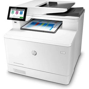 HP Color LaserJet Enterprise M480f 4 in 1 Farblaser-Multifunktionsdrucker weiß