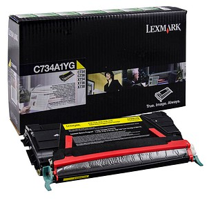 Lexmark C734A1YG gelb Toner