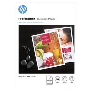 HP Fotopapier 7MV79A DIN A4 matt 180 g/qm 150 Blatt